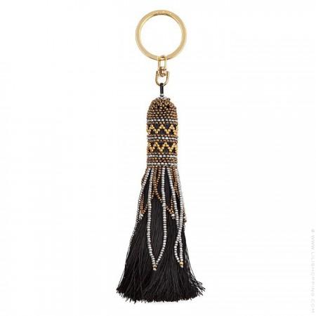Bijou de sac - porte clé Hipanema Balma noir