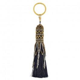 Balma navy bag charm - keychain