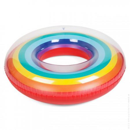 Pool ring rainbow
