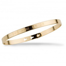 Une amie en or gold platted bracelet