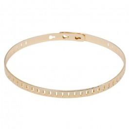Triangle gold platted bracelet