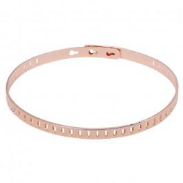 Dove pink gold platted bracelet
