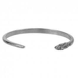 Silver platted snake bracelet