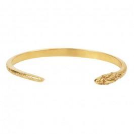 Gold platted snake bracelet