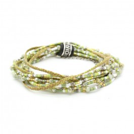 multitour beads and cristals bracelet