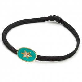 Bracelet étoile du nord émaillée