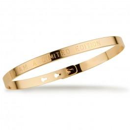 I am a limited edition gold platted bracelet