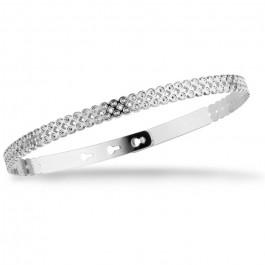 Rectangle silver platted bracelet