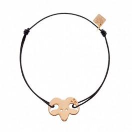 Bracelet Bélier plaqué or rose My Little Zodiac Les étoiles de Lily