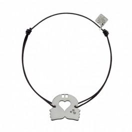 Bracelet Gémeaux en argent My Little Zodiac Les étoiles de Lily
