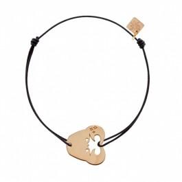 Bracelet Cancer plaqué or rose My Little Zodiac Les étoiles de Lily