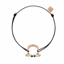 Bracelet Balance plaqué or rose My Little Zodiac Les étoiles de Lily