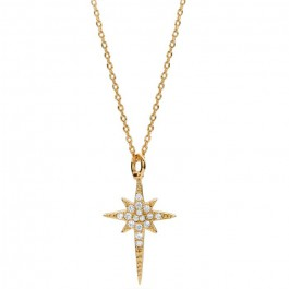 North star Gold platted necklace