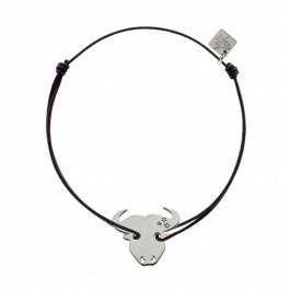 Bracelet Taureau en argent My Little Zodiac Les étoiles de Lily