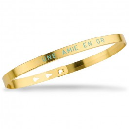 Une amie en or gold platted bracelet