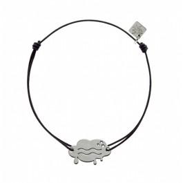 Bracelet Verseau en argent My Little Zodiac Les étoiles de Lily