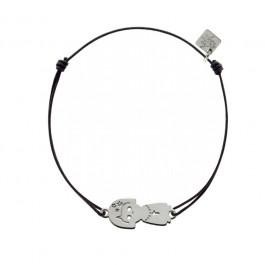 Bracelet Vierge en argent My Little Zodiac Les étoiles de Lily