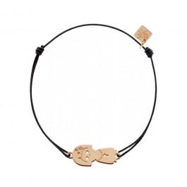 Bracelet Vierge plaqué or rose My Little Zodiac Les étoiles de Lily