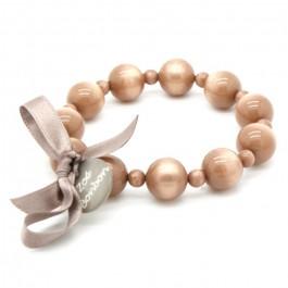 Bracelet Coco nacré bois de rose