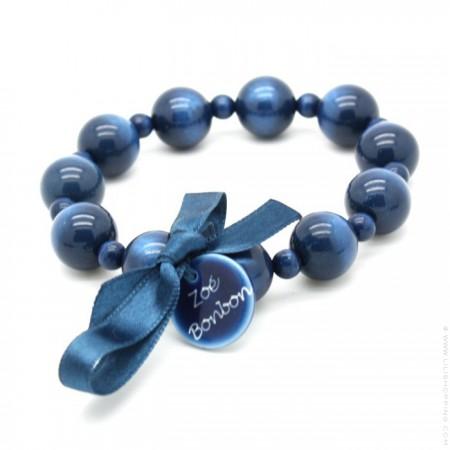 Bracelet Coco nacré marine