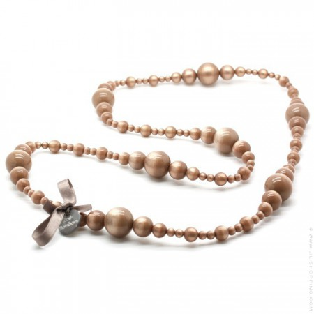 Rosewood Coco long necklace by Zoe Bonbon