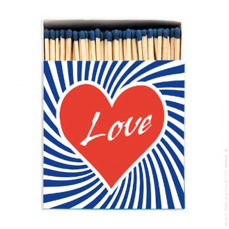 Grandes allumettes Love