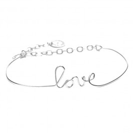 Bracelet Paris Love Silver