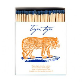 Tigers Luxury matchbox