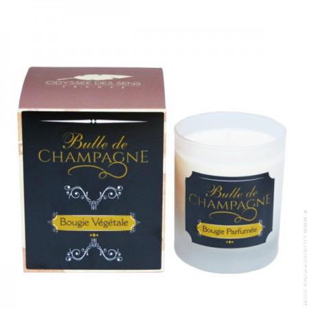 Bougie Bulle de Champagne