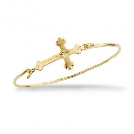Bracelet Une amie en or plaqué or