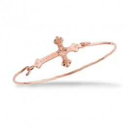 Bracelet Une amie en or plaqué or rose