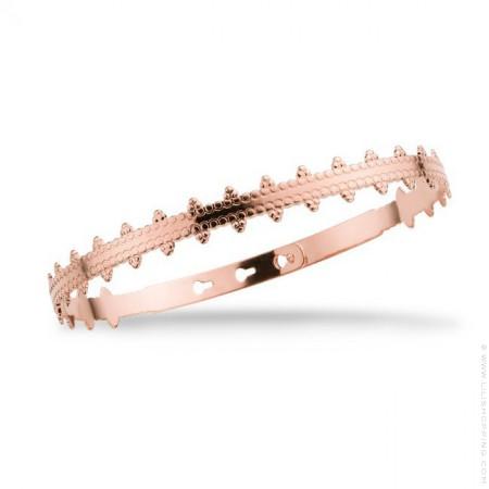Bracelet India plaqué or rose