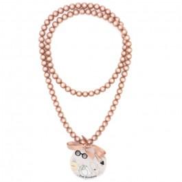 Black Watson long necklace