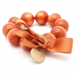 Orange XL bracelet Zoe Bonbon