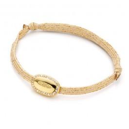 Bracelet Goutte plaquée or