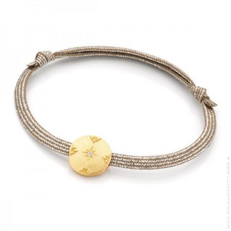 Bracelet Comète plaquée or