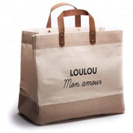 Le Mademoiselle bag Loulou mon amour black
