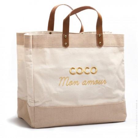 Le Mademoiselle bag Coco mon amour gold