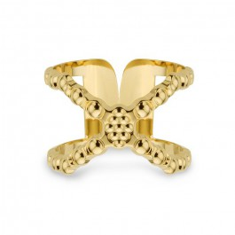Connexion gold Plated Ring