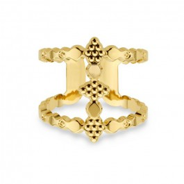 Icone gold Plated Ring