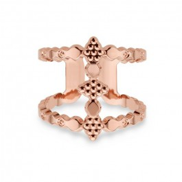Icone Rose Gold Plated Ring