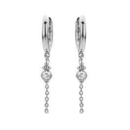 Kochi silver platted earrings