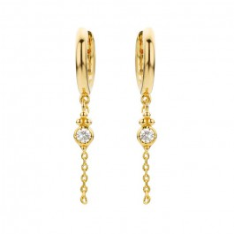 Kochi gold platted earrings