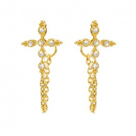 Little Chenai gold platted earrings