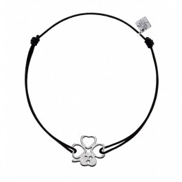 Bracelet Trèfle argent