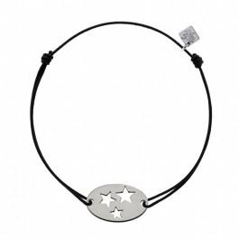 Bracelet 3 étoiles en argent