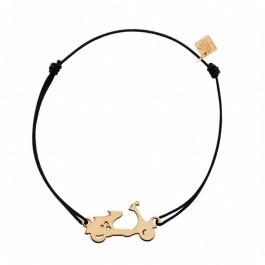 Bracelet Vespa plaqué or