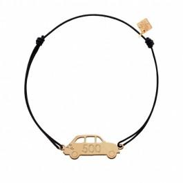 Bracelet Fiat 500 plaqué or