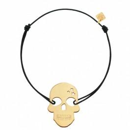 Bracelet Skull plaqué or