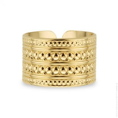 Maharaja gold Plated Ring